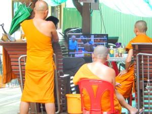 Friedliebende Mönche