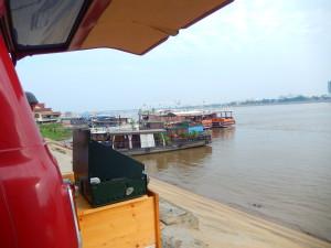 Stellplatz am Mekong in Phnom Peng