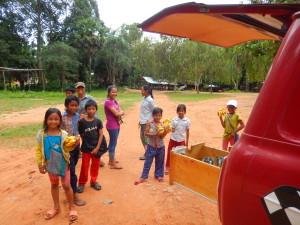 Kaffee kochen in Angkor